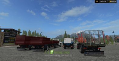 Газон Некст для Farming Simulator 2017