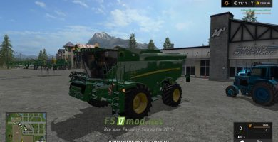 John Deere S690i Full Washable