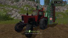 Мод красного MTZ-82