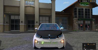 BMW I3 для игры Фермер Симулятор
