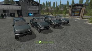 Мод УАЗ «Патриот» для игры FS 2017