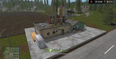 Фабрика производства ДСП