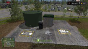 Хранилище воды для игры Farming Simulator 2017