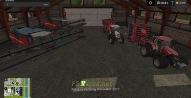 Техника в гараже