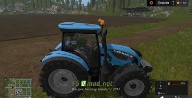 Трактор LANDINI 6 145-175HP для Farming Simulator 2017.