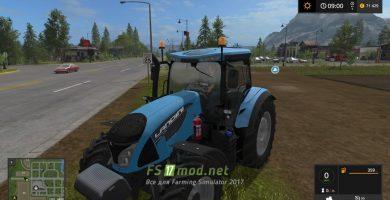 Трактор LANDINI 6 145-175HP