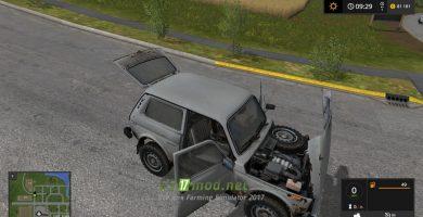 Автомобиль «НИВА» для игры Симулятор Фермера 2017
