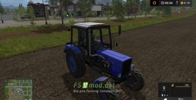 Трактор MTZ 82 для игры Фарминг Симулятор 2017