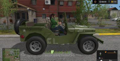 Внедорожник WILLYS для игры Симулятор Фермера 2017
