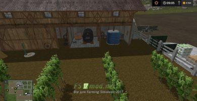 Мод GRAPE FARM для игры Фермер Симулятор 2017