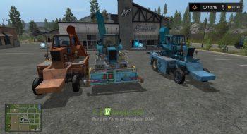 Комбайны МТЗ для Farming Simulator 2017