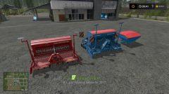 Сеялки LSP DRILL MACHINES PACK для игры Фермер Симулятор 2017