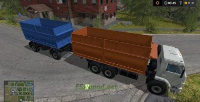 КАМАЗ 68900R и прицеп