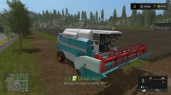 Комбайн ЛАН для Farming Simulator 2017