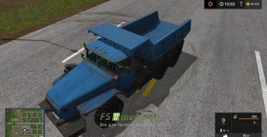 Грузовик УРАЛ 4320 DUMPER для игры Фермер Симулятор 2017