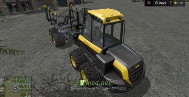 Лесовоз PONSSE BUFFALO WITH AUTOLOAD AND LOADING AID для игры Фермер Симулятор 2017