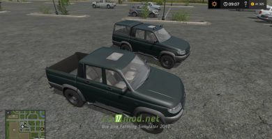 Автомобиль УАЗ-23632 «Патриот» для FS 2017