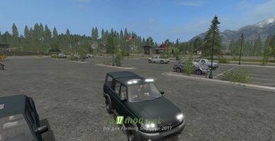 Автомобиль УАЗ-23632 «Патриот»