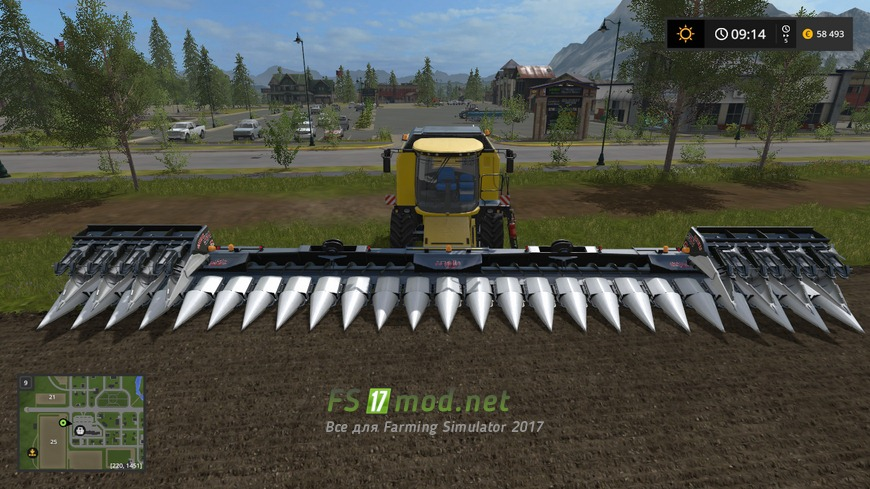 Скачать мод для farming simulator 2018 жатки