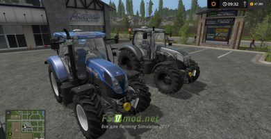 Трактор NEW HOLLAND T7 TIER4A