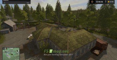 Карта «СЕЛО МОЛОКОВО» для игры Farming Simulator 2017