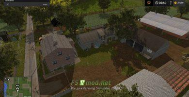 Карта BOLUSOWO MAP для игры Симулятор Фермера 2017