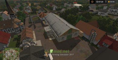 Мод на карту «Stappenbach» для игры Farming Simulator 2017