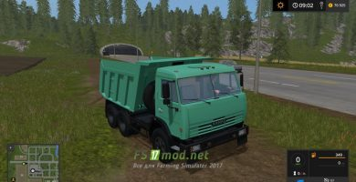 Грузовик Kamaz 65115