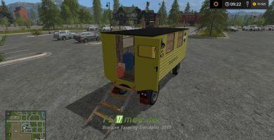 Заправочный прицеп Service trailer