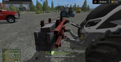 «Самопальный»  на тракторе