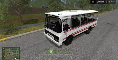 Мод на ПАЗ 3205 для игры FS 2017