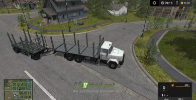 КРАЗ 6233 M6 Log truck