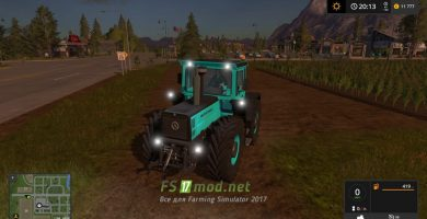Мод на трактор MB1800 Limited edition для игры в Фермер Симулятор 2017