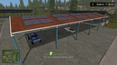 Мод на Vehicle shelter with solar system