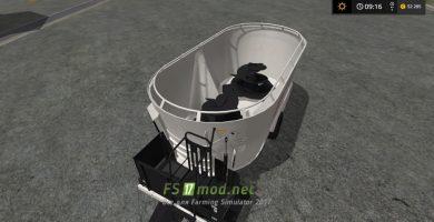 Мод на Kuhn knight VTC 180 для игры Фермер Симулятор 2017