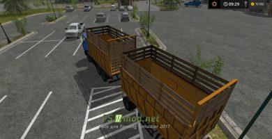 Грузовик МАЗ 5516 для игры Farming Simulator 2017