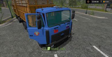 Грузовик МАЗ 5516