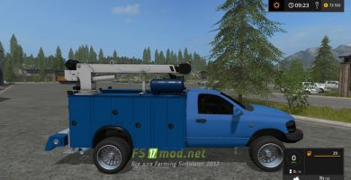 Мод на 2008 DODGE Ram 3500 service truck для игры FS 2017