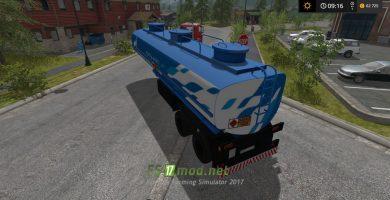 Мод на полуприцеп топливо НЕФАЗ для игры Farming Simulator 2017
