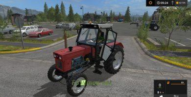 Трактор Universal 651M Turbo для игры Фермер Симулятор 2017