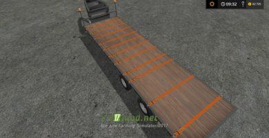 Seed tender trailer