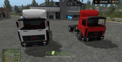 Мод на МАЗ 6422 и 5432