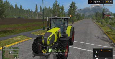Claas arion 650F