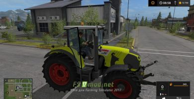 Трактор Claas arion 650F для игры в Симулятор Фермера 2017