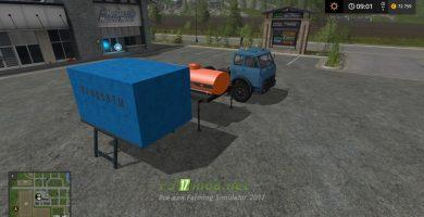 Тягач МАЗ 504 с модулями для игры