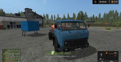 МАЗ 504 с модулями