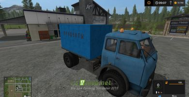 Тягач МАЗ 504 с модулями для игры Фермер Симулятор 2017