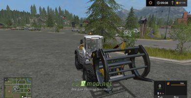 Wheelloader forkmod с погрузчиком