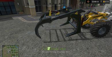 Wheelloader forkmod