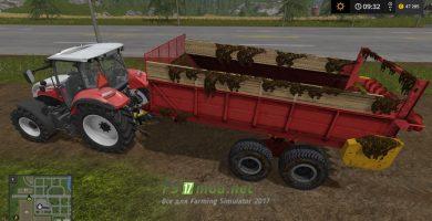 Мод на прицеп PRT-10 для игры Симулятор Фермера 2017